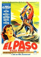El Paso - French Movie Poster (xs thumbnail)