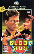 Bloodsport - Dutch VHS movie cover (xs thumbnail)