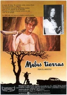 Badlands - Spanish Movie Poster (xs thumbnail)