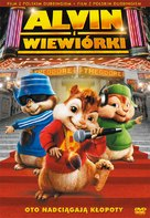 Alvin and the Chipmunks - Polish Movie Cover (xs thumbnail)