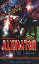 Alienator - Polish VHS movie cover (xs thumbnail)