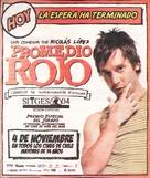 Promedio rojo - Chilean Movie Poster (xs thumbnail)