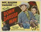 Down Dakota Way - Movie Poster (xs thumbnail)
