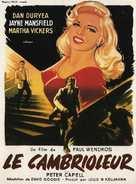 The Burglar - French Movie Poster (xs thumbnail)