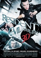 Resident Evil: Afterlife - German Movie Poster (xs thumbnail)