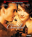 Chocolat - Blu-Ray movie cover (xs thumbnail)
