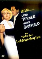 The Postman Always Rings Twice - German DVD cover (xs thumbnail)