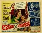 Criss Cross - Movie Poster (xs thumbnail)