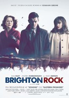 Brighton Rock - Danish Movie Poster (xs thumbnail)