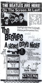 A Hard Day's Night - poster (xs thumbnail)