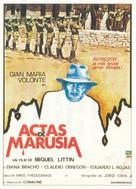 Actas de Marusia - Mexican Movie Poster (xs thumbnail)
