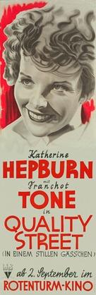 Quality Street - German Movie Poster (xs thumbnail)