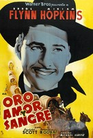 Virginia City - Spanish Movie Poster (xs thumbnail)