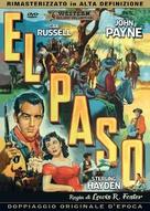 El Paso - Italian DVD movie cover (xs thumbnail)