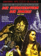 Tower of Evil - German Blu-Ray cover (xs thumbnail)