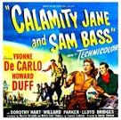 Calamity Jane and Sam Bass - Movie Poster (xs thumbnail)