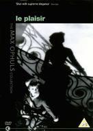 Le plaisir - British DVD cover (xs thumbnail)