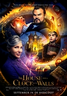 The House with a Clock in its Walls - Dutch Movie Poster (xs thumbnail)