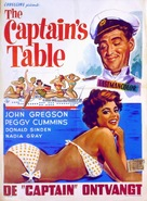 The Captain's Table - Belgian Movie Poster (xs thumbnail)