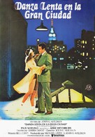 Slow Dancing in the Big City - Spanish Movie Poster (xs thumbnail)