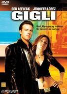 Gigli - Danish Movie Cover (xs thumbnail)