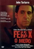 Fear X - Portuguese DVD cover (xs thumbnail)