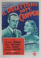 Dr. Crippen an Bord - Italian Movie Poster (xs thumbnail)