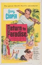 Return to Paradise - Movie Poster (xs thumbnail)