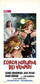 Orgía nocturna de los vampiros, La - Italian Movie Poster (xs thumbnail)