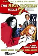 La dama rossa uccide sette volte - DVD cover (xs thumbnail)