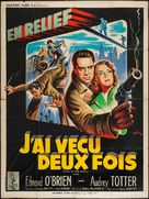 Man in the Dark - French Movie Poster (xs thumbnail)