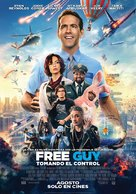 Free Guy - Argentinian Movie Poster (xs thumbnail)