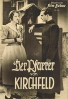 Der Pfarrer von Kirchfeld - German poster (xs thumbnail)