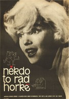Some Like It Hot - Czech Movie Poster (xs thumbnail)