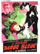 Bluebeard - French Movie Poster (xs thumbnail)