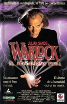 Warlock: The Armageddon - Spanish VHS cover (xs thumbnail)