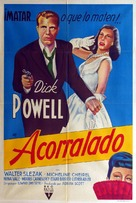 Cornered - Argentinian Movie Poster (xs thumbnail)