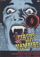 Vampire Circus - German DVD movie cover (xs thumbnail)