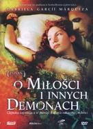Del amor y otros demonios - Polish DVD movie cover (xs thumbnail)