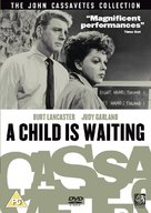 A Child Is Waiting - British DVD movie cover (xs thumbnail)