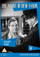 The Saint in New York - British DVD cover (xs thumbnail)