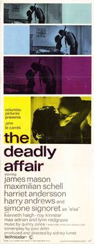 The Deadly Affair - Movie Poster (xs thumbnail)