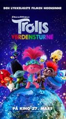 Trolls World Tour - Norwegian Movie Poster (xs thumbnail)