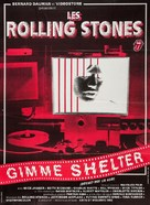Gimme Shelter - French Re-release movie poster (xs thumbnail)