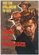Santa Fe Trail - German Movie Poster (xs thumbnail)