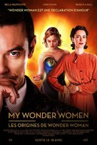 Professor Marston & the Wonder Women - French Movie Poster (xs thumbnail)