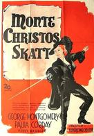 The Sword of Monte Cristo - Swedish Movie Poster (xs thumbnail)
