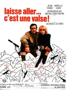 Laisse aller, c'est une valse - French Movie Poster (xs thumbnail)