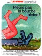 Pleure pas la bouche pleine - French Movie Poster (xs thumbnail)