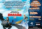 How to Train Your Dragon - Portuguese Movie Poster (xs thumbnail)